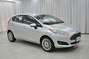 2015 Ford Fiesta TITANIUM 5DR HATCH w/ BLUETOOTH, HTD LEATHER &