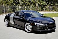 2008 Audi R8 6 SPD MANUAL -- BLACK ON BLACK -- CLEAN CARPROOF