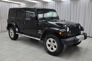 2013 Jeep Wrangler SAHARA UNLIMITED TRAIL RATED 6SPD 4X4 SUV w/