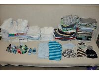 HUGE LARGE baby boy clothes bundle 0-12 months newborn up to 1 year old! 150 items!!!