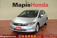 2012 Honda Civic LX| Econ Mode, Bluetooth, Options!