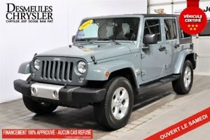 2014 Jeep Wrangler UNLIMITED SAHARA*GPS*MAGS*DIFF 3.73