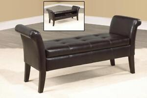 Espresso Storage Bench - IF-668E in Toronto Furniture Sale (BD-1474)