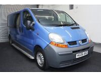 Renault Trafic 1.9 TD dCi LL29+ Crew Cab Chassis 4dr 2006 ** NO VAT **