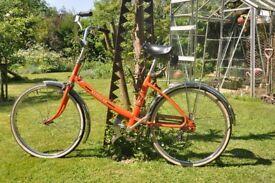 Vintage Peugeot Ladies Bike