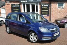 VAUXHALL ZAFIRA 1.6 CLUB 16V 5d 105 BHP 2 KEYS / COMES WITH FULL MOT (blue) 2007