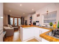 Two double bedroom garden flat in a period conversion. Corrance Road, Brixton, SW2