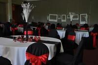 Décoration de mariage à vendre (rouge, blanc et noir)