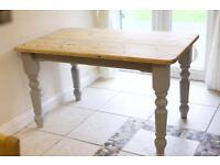 Table / Shabby Chic / Farm house Table - kitchen table - Dinning room