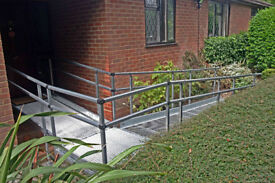 Disabled access ramp--modular construction--almost new...