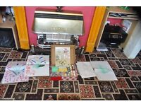 CRAFT CD's and paint craft