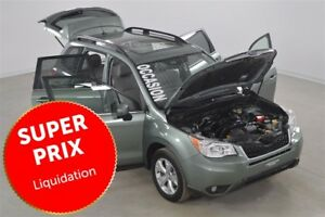 2014 Subaru Forester 2.5 4WD Limited Cuir+Toit Pano+Camera de Re