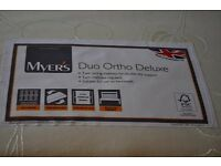 Myer's Beds Duo Ortho Deluxe 5' King Size Mattress