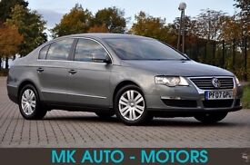2007 Volkswagen Passat 2.0 TDI SEL 4dr+DIESEL+6 SPEEDS+LEATHER+170 BHP+SPORT+12 MONTHS MOT+FSH