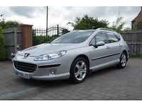 2006 56 Peugeot 407 SW SE 2.0 Hdi Estate, Hpi clear, Part ex welcome,