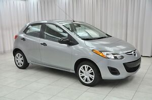 2014 Mazda 2 1.5L 5SPD 5DR HATCH w/ A/C, POWER W/L/M & USB/AUX