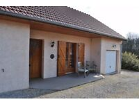 Beautiful (new) house (2006) for sale in Bourgogne (Burgundy), France, including all furniture