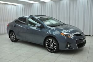 2015 Toyota Corolla S SEDAN w/ BLUETOOTH, HEATED SEATS, CLIMATE