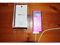 Ipod nano ,2nd generation in pink