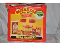 Rotastak Deluxe Hamster Cage Starter Unit plus several extra houses, tunnels and hamster ball gym