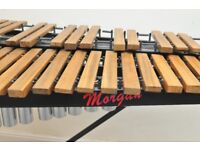 Rosewood Xylophone with resonators - percussion tuned
