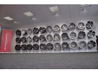 **LARGE SELECTION OF NEW ALLOYS & TYRES FOR VW,AUDI,SEAT BMW ETC ** (((KEEN PRICES)))