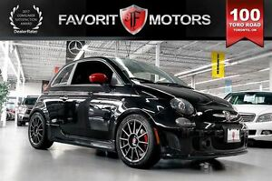 2014 Fiat 500 Abarth | MANUAL | RED LTHR | MOONROOF | BEATS