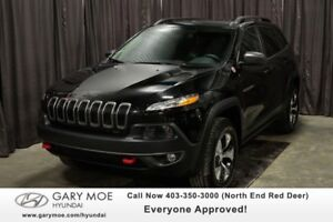 2018 Jeep Cherokee TRAIL HAWK W/  HEATED STEERING, DUAL CLIMATE,