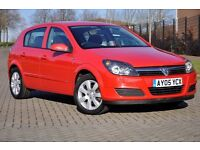 2005 Vauxhall Astra 1.4 i 16v Breeze 5dr+3 MONTHS WARRANTY+JUST SERVICED+LONG MOT+LOW MILEAGE