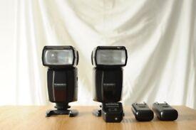 Nikon DSLR Flashes and Wireless Triggers (Yongnuo 460-II)