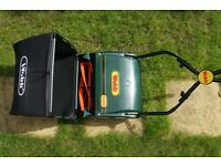 "Quality Webb 12"" Hand Push Roller Lawn Mower"