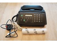 Philips HFC-171 fax machine + fax paper roll. Almost new and rarely used.