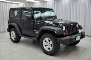 2012 Jeep Wrangler SPORT TRAIL RATED 4x4 3DR 4PASS SUV w/ REMOVA