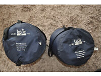 A Pair of 4 Season Sleeping Bag (left and Right ) Mummy type