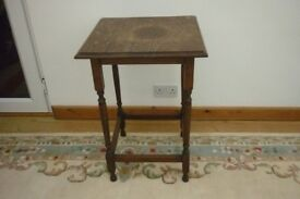 Vintage Side / End Table for upcycling