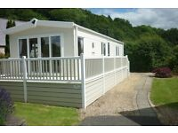 Static caravan for sale on 5* holiday park down the Conwy Valley, North Wales