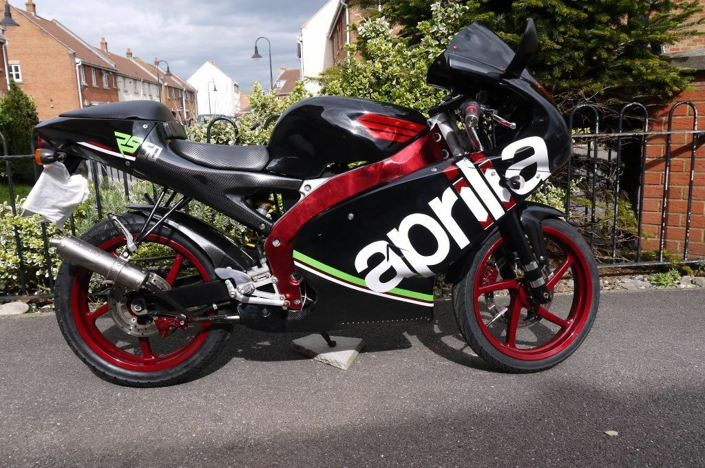 aprilia rs 50 2004 for sale like yamaha tzr 50 in weston super mare somerset gumtree. Black Bedroom Furniture Sets. Home Design Ideas