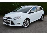 FORD FOCUS EDGE TDCI 115 ONE OWNER LOADS OF SPEC (white) 2012