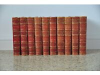 Chambers's Encyclopaedias 1895 full set, leather spine.