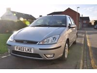 FORD FOCUS 1.6 I 16V GHIA 5DR PETROL (PART SERVICE HISTORY)