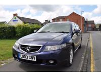 HONDA ACCORD 2.0 I VTEC EXECUTIVE TOURER 5DR PETROL ( NO ADVISORY ON MOT)