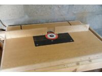 Frued FT2000e Router with router table