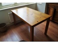 *** Beautiful Antique Victorian Kitchen Pine Table ***