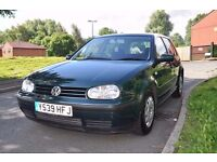 Volkswagen GOLF 1.6 Petrol 5 door hatchback *Full service History* *2 keys**1 owner*
