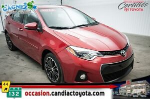 2014 Toyota Corolla S * AUTO * AC * TOIT * MAGS * CUIR *