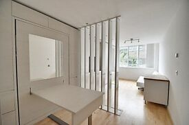 MODERN STUDIO APARTMENT - LOVELY ART DECO BUILDING WITH GYM - CONCIERGE AND UNDERGROUND PARKING !!!!