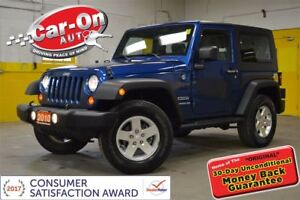 2010 Jeep Wrangler Sport 4X4 HARD TOP A/C ALLOYS ONLY 80,000KMS