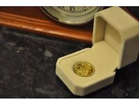 1913 gold plated sovereign coin for £10 ech can post Quick sale see pictures king george