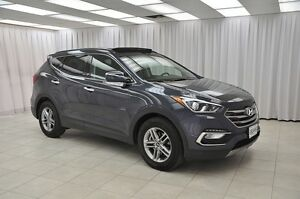 2017 Hyundai Santa Fe SPORT AWD SUV w/ BLUETOOTH, HTD LEATHER, P