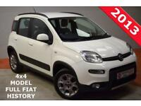 FIAT PANDA 1.3 MULTIJET 4X4 5 Door FULL FIAT HISTORY (white) 2013